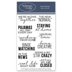 In This Together, Technique Tuesday Clear Stamps - 811784028490