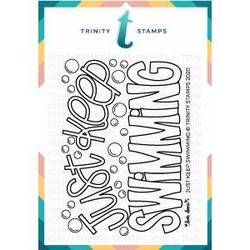 Just Keep Swimming, Trinity Stamps Clear Stamps -