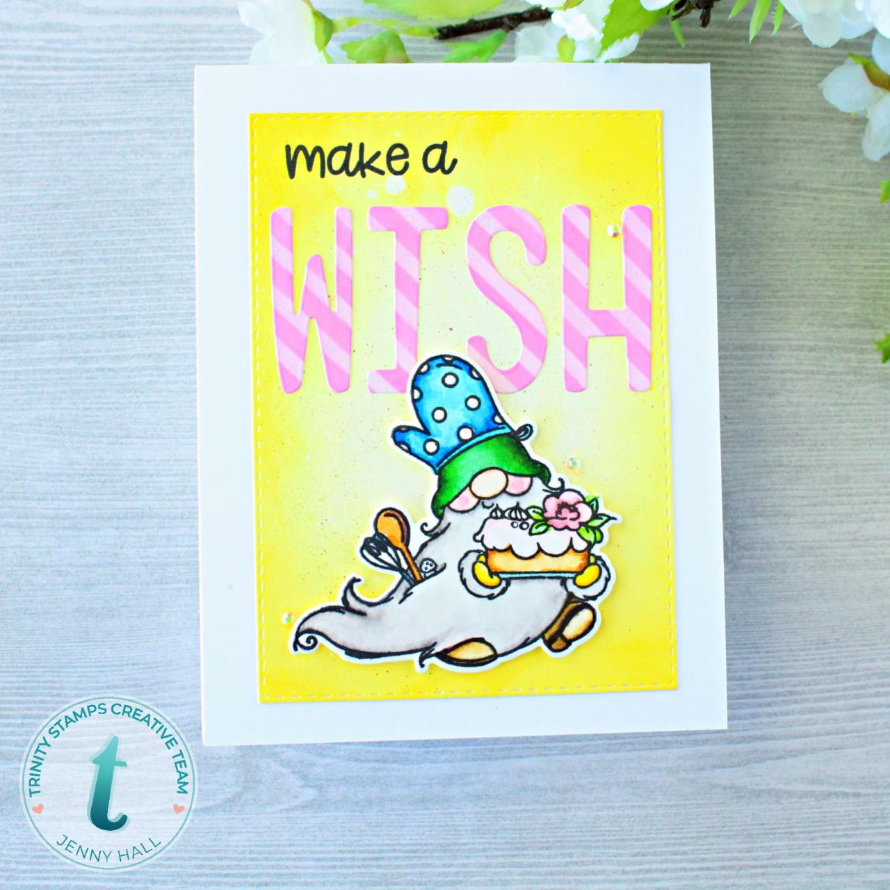 Make a Wish, Trinity Stamps Clear Stamps -