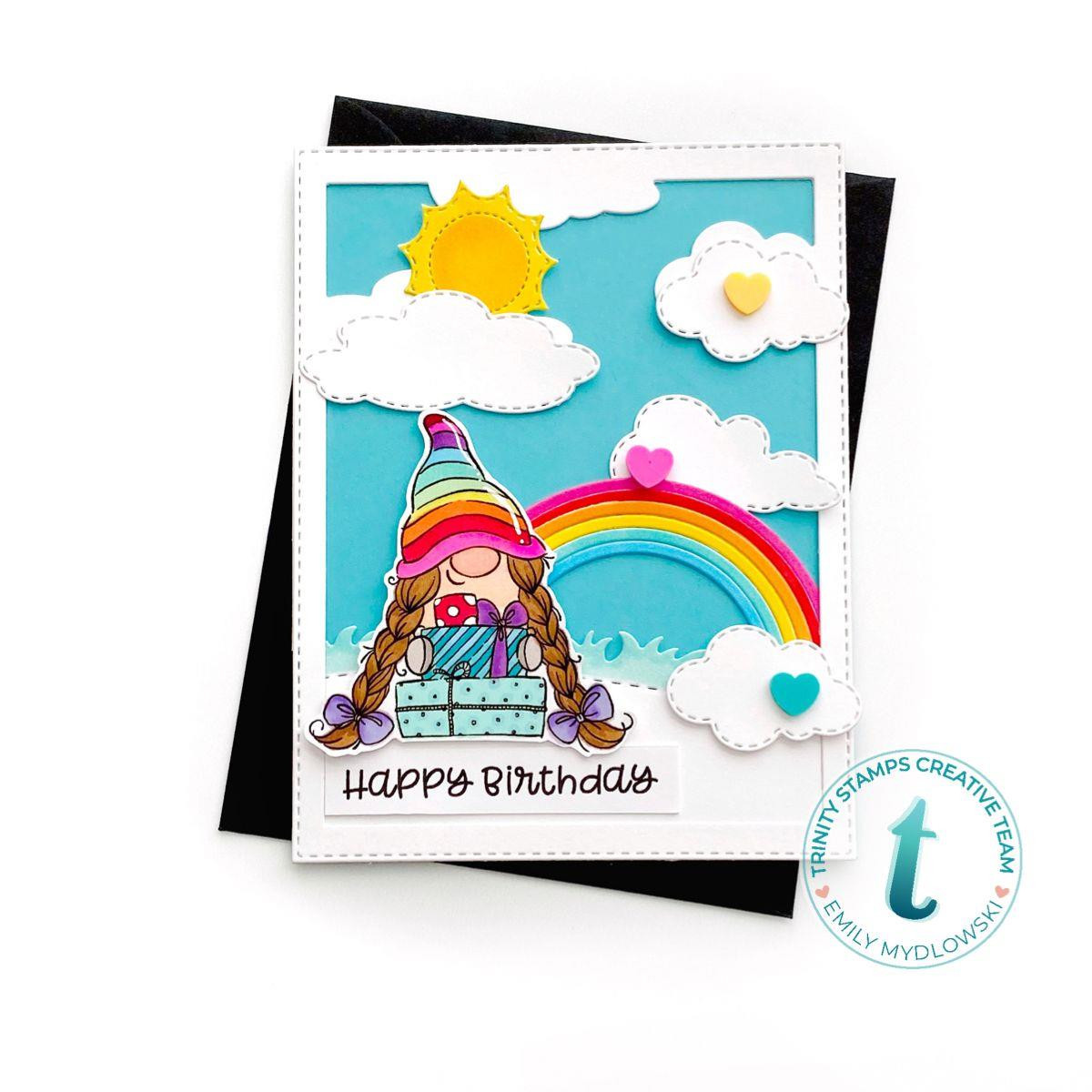 Just For You, Trinity Stamps Clear Stamps -