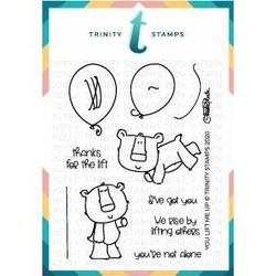 You Lift Me Up, Trinity Stamps Clear Stamps -