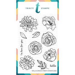 Wallflower, Trinity Stamps Clear Stamps -
