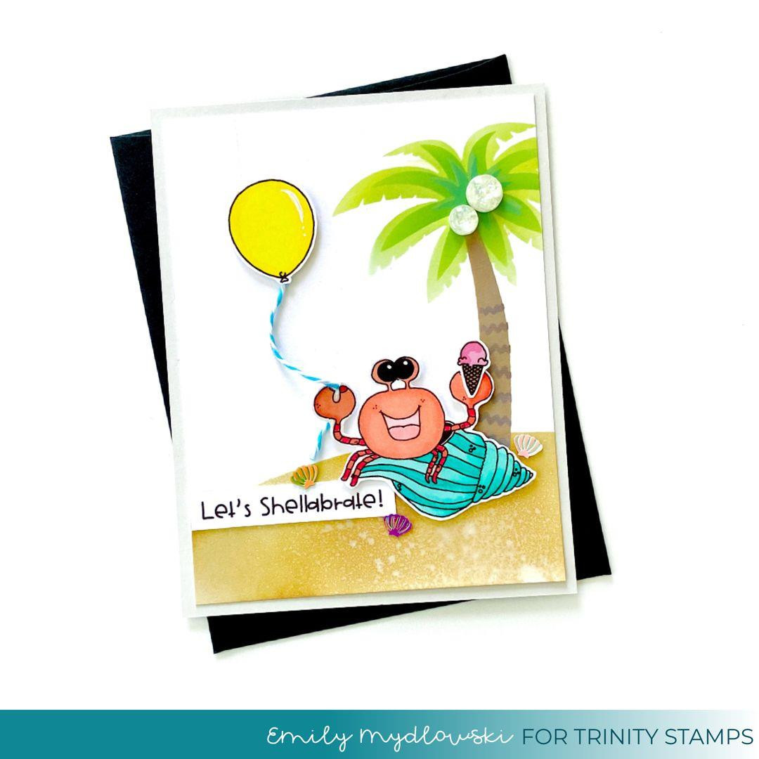 Shellebration, Trinity Stamps Clear Stamps -