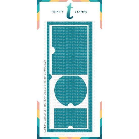 Slimline Series: Lift the Flaps, Trinity Stamps Dies -