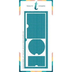 Slimline Series: Lift the Flaps, Trinity Stamps Dies -