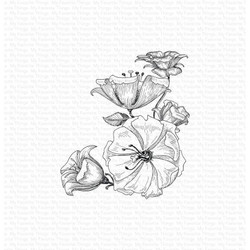 Floral Fantasy, My Favorite Things Cling Stamps - 849923035597