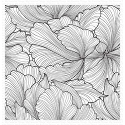 Floating Petals Background, My Favorite Things Cling Stamps - 849923035689