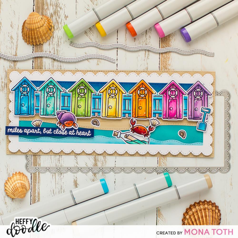 A Little Shellfish, Heffy Doodle Clear Stamps - 5060540222701