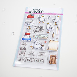 You Go, Gull, Heffy Doodle Clear Stamps - 5060540222725