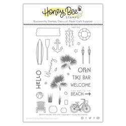 Beach House Add-On, Honey Bee Clear Stamps - 652827603201
