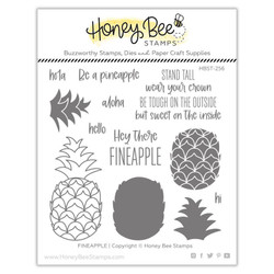 Fineapple, Honey Bee Clear Stamps - 652827603232