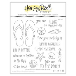 Flippin' Fabulous, Honey Bee Clear Stamps - 652827603164