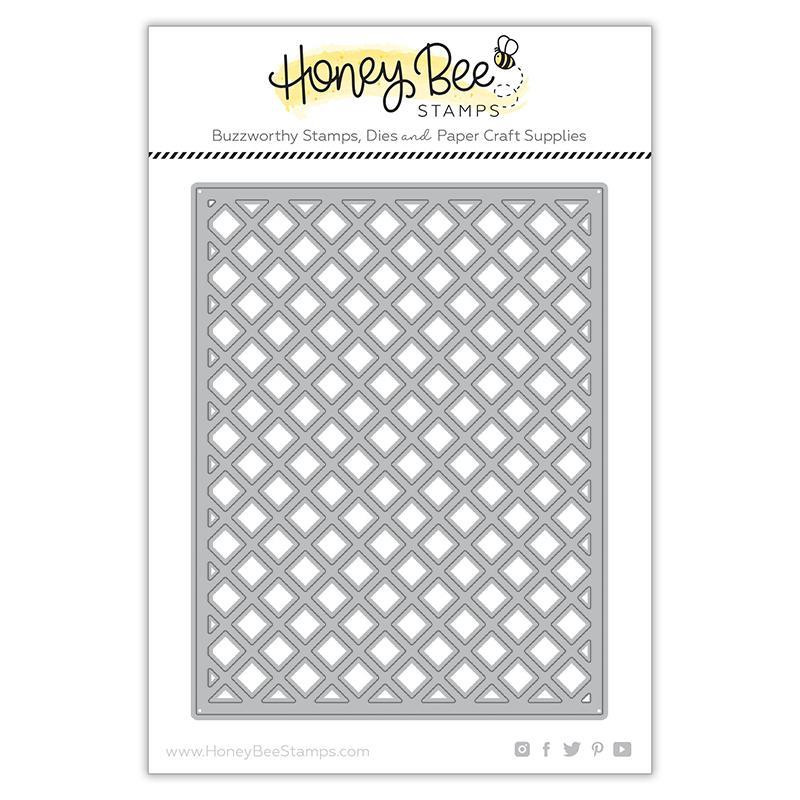 Garden Lattice Cover Plate - Top, Honey Cuts Dies - 652827603034