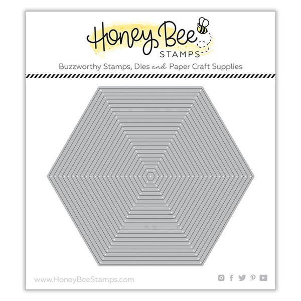 Hexagon Thin Frames, Honey Cuts Dies - 652827603119