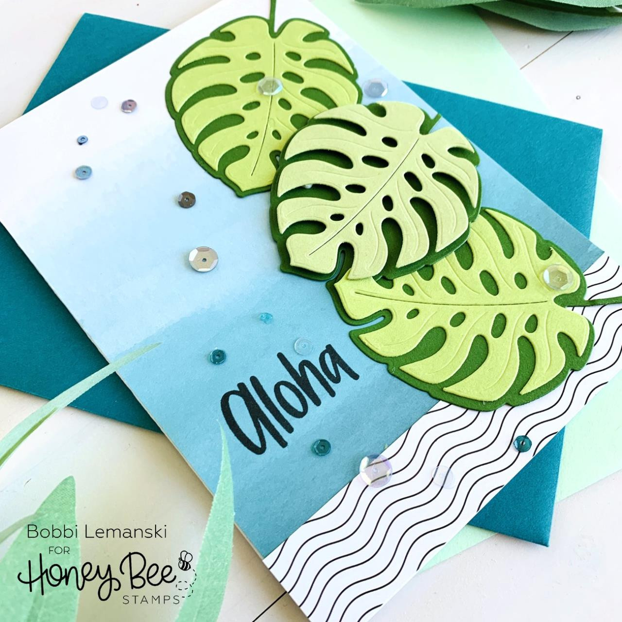 Lovely Layers: Monstera Leaf, Honey Cuts Dies - 652827603072