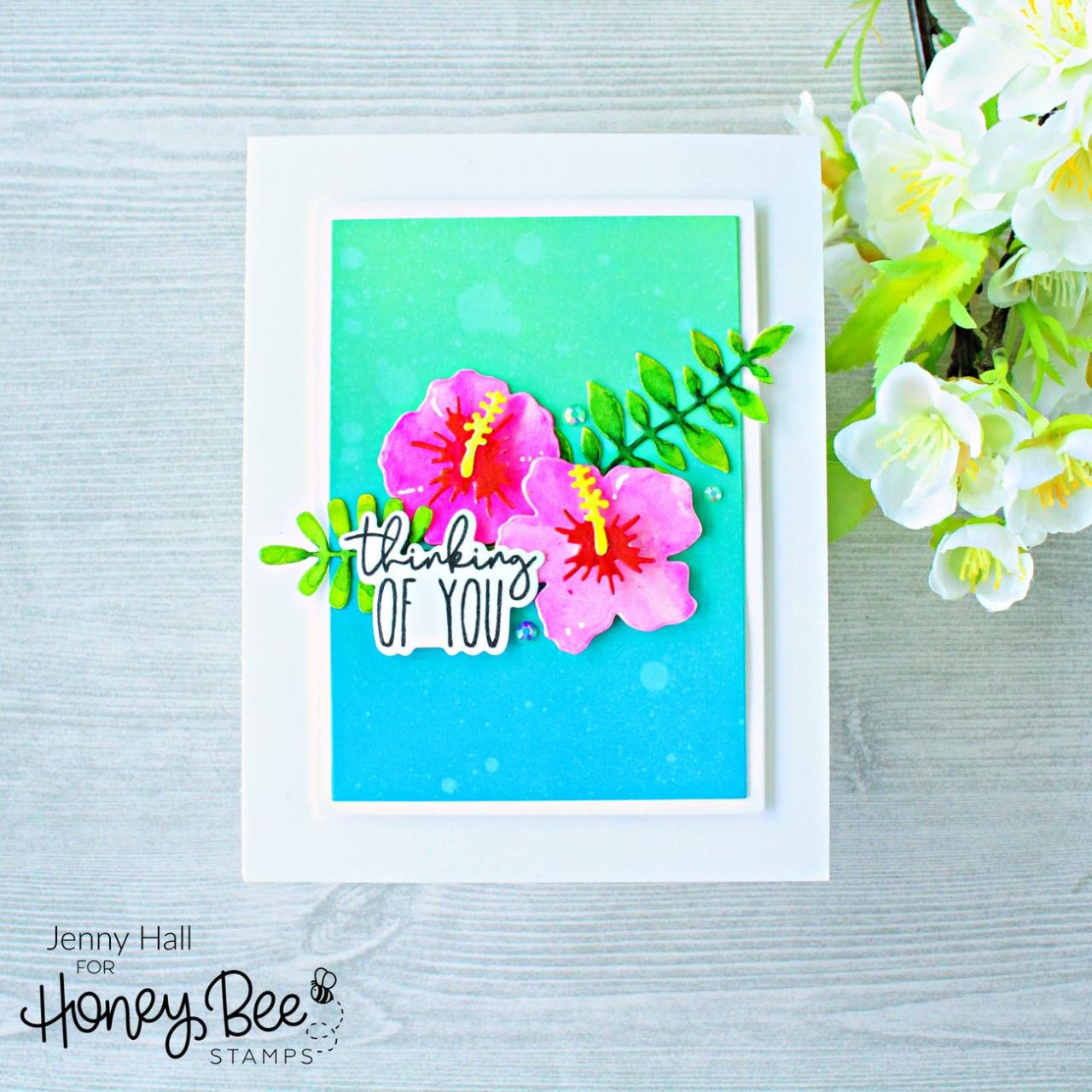 Pearfect Sentiments, Honey Bee Clear Stamps - 652827603225