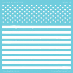 Stars and Stripes Forever, Honey Bee Stencils - 652827603423