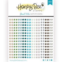 Beach Vibes Gems, Honey Bee Stickers - 652827603393