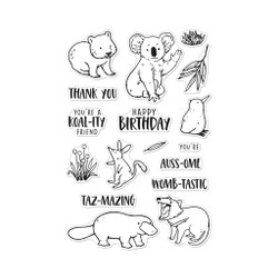Bandicoot & Friends, Hero Arts Clear Stamps - 085700926966