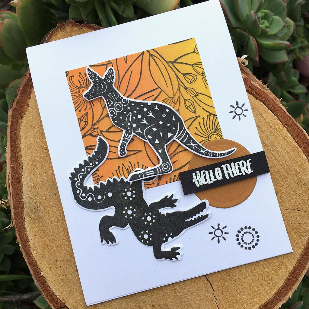 Patterned Animals, Hero Arts Clear Stamps - 085700926973