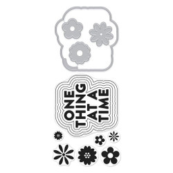 One Thing at a Time, Hero Arts Stamp & Cut - 085700927291