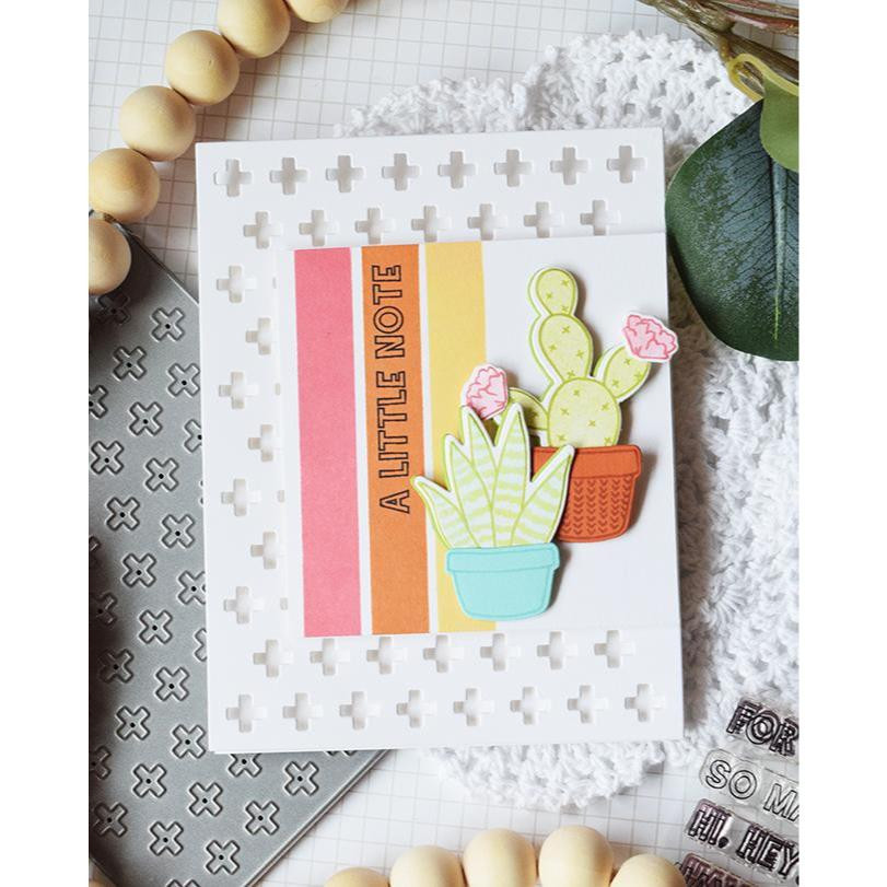 This Says It All, Reverse Confetti Clear Stamps -