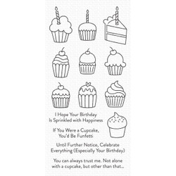 All the Cupcakes, My Favorite Things Clear Stamps - 849923035764