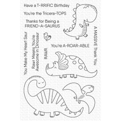 A-roar-able Friends, My Favorite Things Clear Stamps - 849923035771