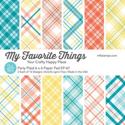 Party Plaid, My Favorite Things Paper Pack - 849923035719
