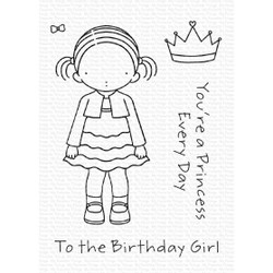 Pure Innocence - Birthday Girl, My Favorite Things Clear Stamps - 849923035801