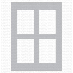 Window Panes, My Favorite Things Stencils - 849923034965