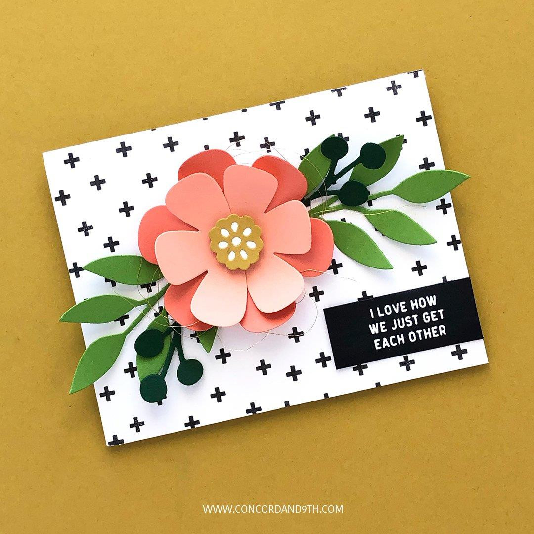Fresh Cut Florals Edition 1, Concord & 9th Dies - Ellen Hutson LLC