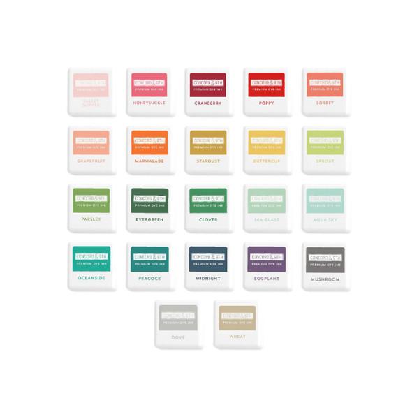 Ink Cubes Bundle, Concord & 9th Premium Dye Ink Cubes - 717932697801