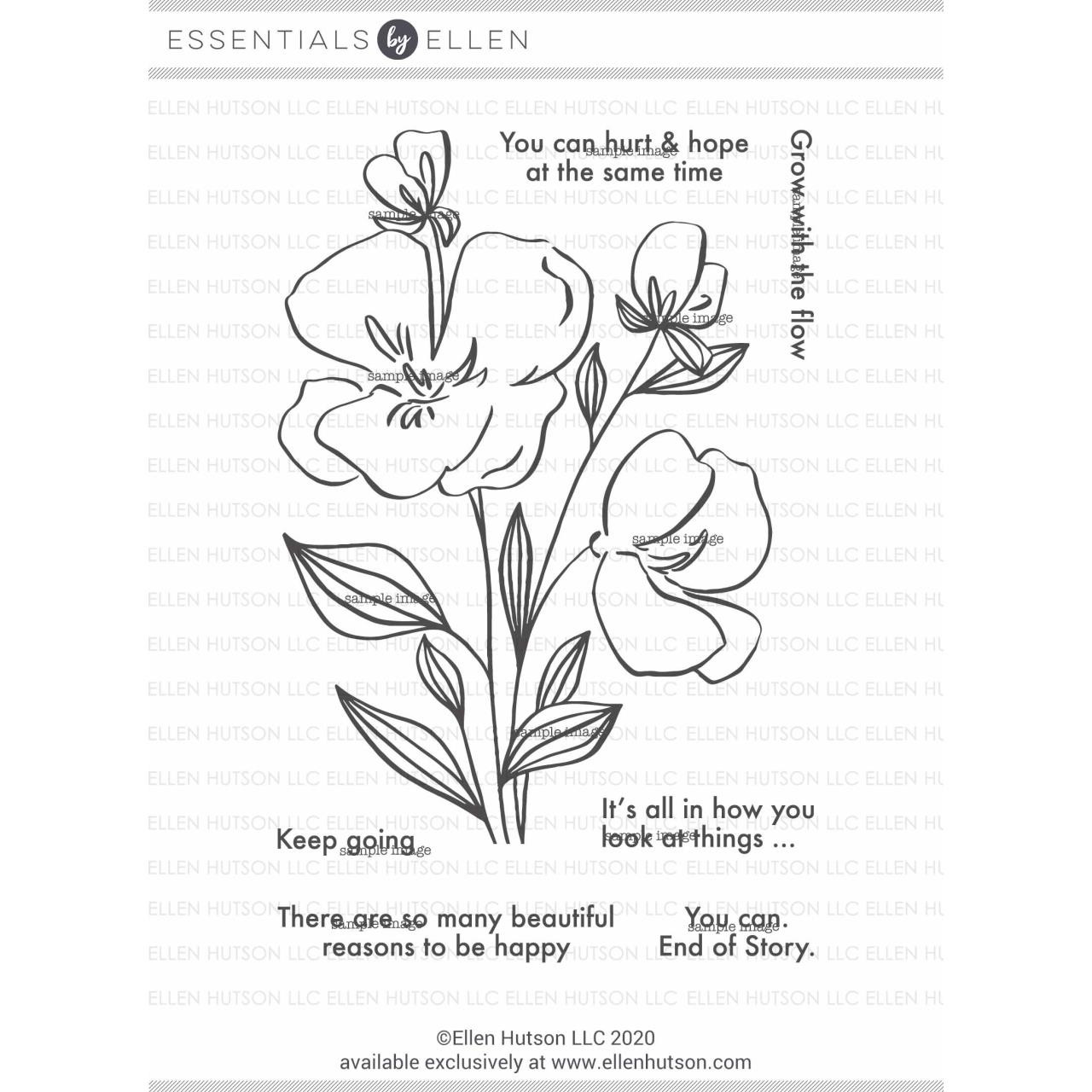 Mondo Pansy by Brandi Kincaid, Summer of Stamping Clear Stamps -
