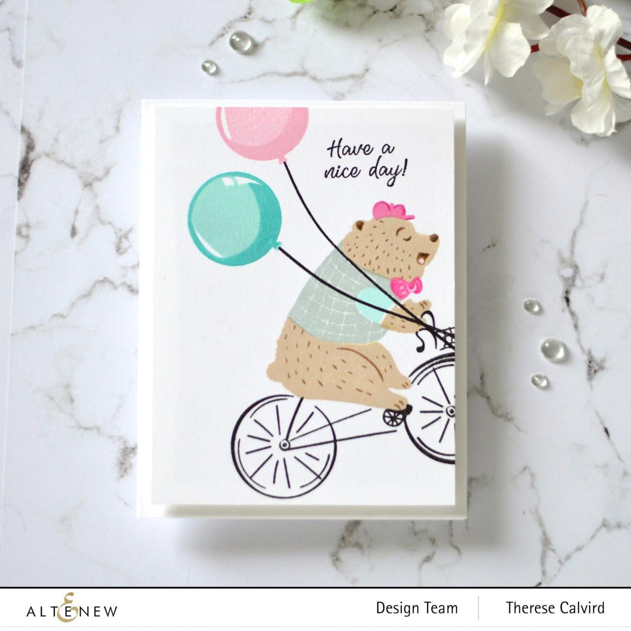 Alten Riding By, Altenew Clear Stamps - 737787266182
