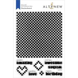 Checkerboard, Altenew Clear Stamps - 737787266311