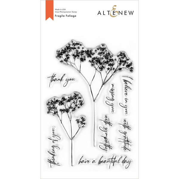 Fragile Foliage, Altenew Clear Stamps - 737787266328