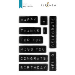 Mega Label Love, Altenew Clear Stamps - 737787266380