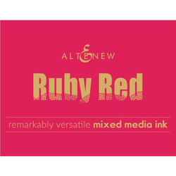 Ruby Red, Altenew Mixed Media Ink - 737787259481