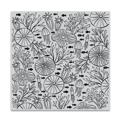 Underwater Pattern Bold Prints, Hero Arts Cling Stamps - 085700927468