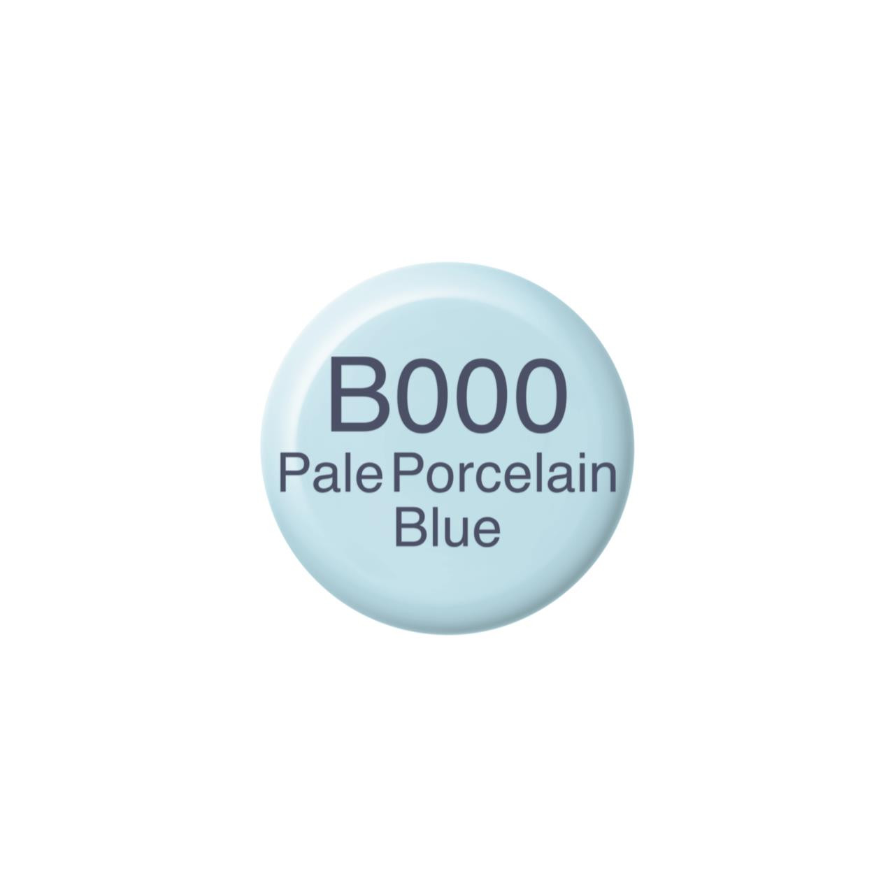 B000 Pale Porcelain Blue, Copic Ink - 4511338055816