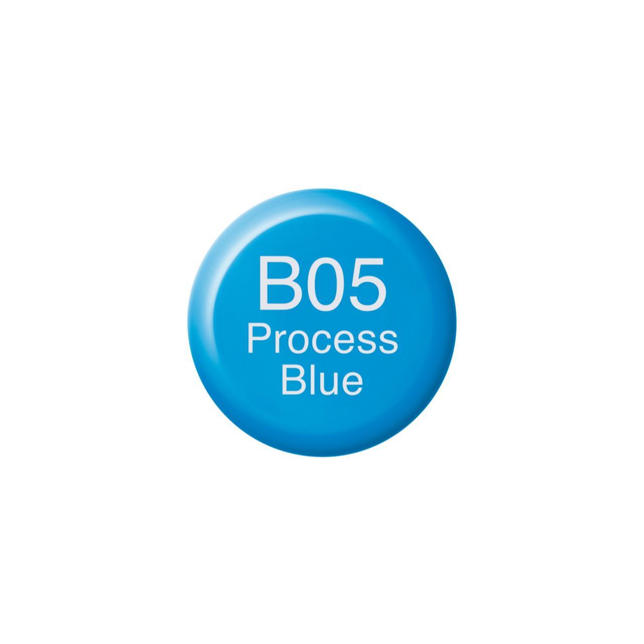 B05 Process Blue, Copic Ink - 4511338055861