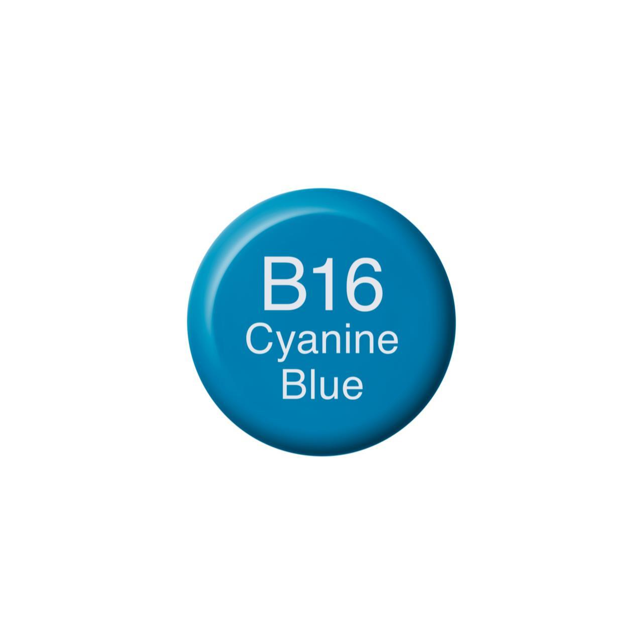 B16 Cyanine Blue, Copic Ink - 4511338055908