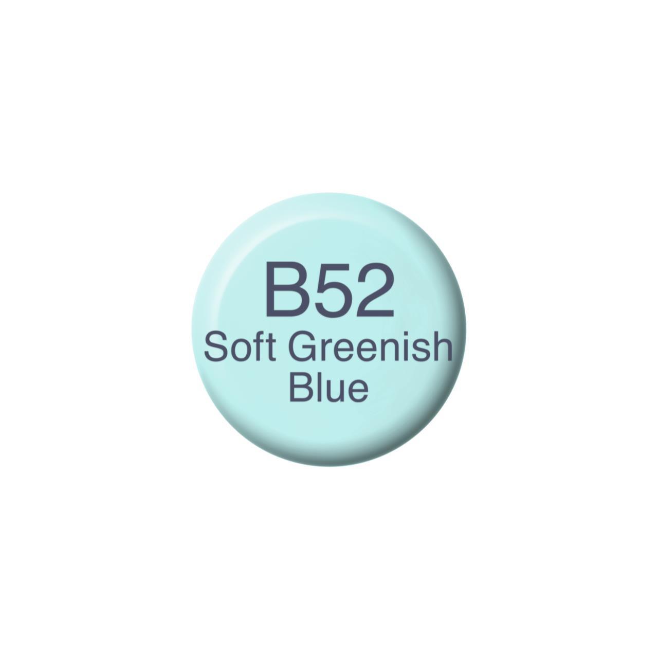 B52 Soft Greenish Blue, Copic Ink - 4511338056042