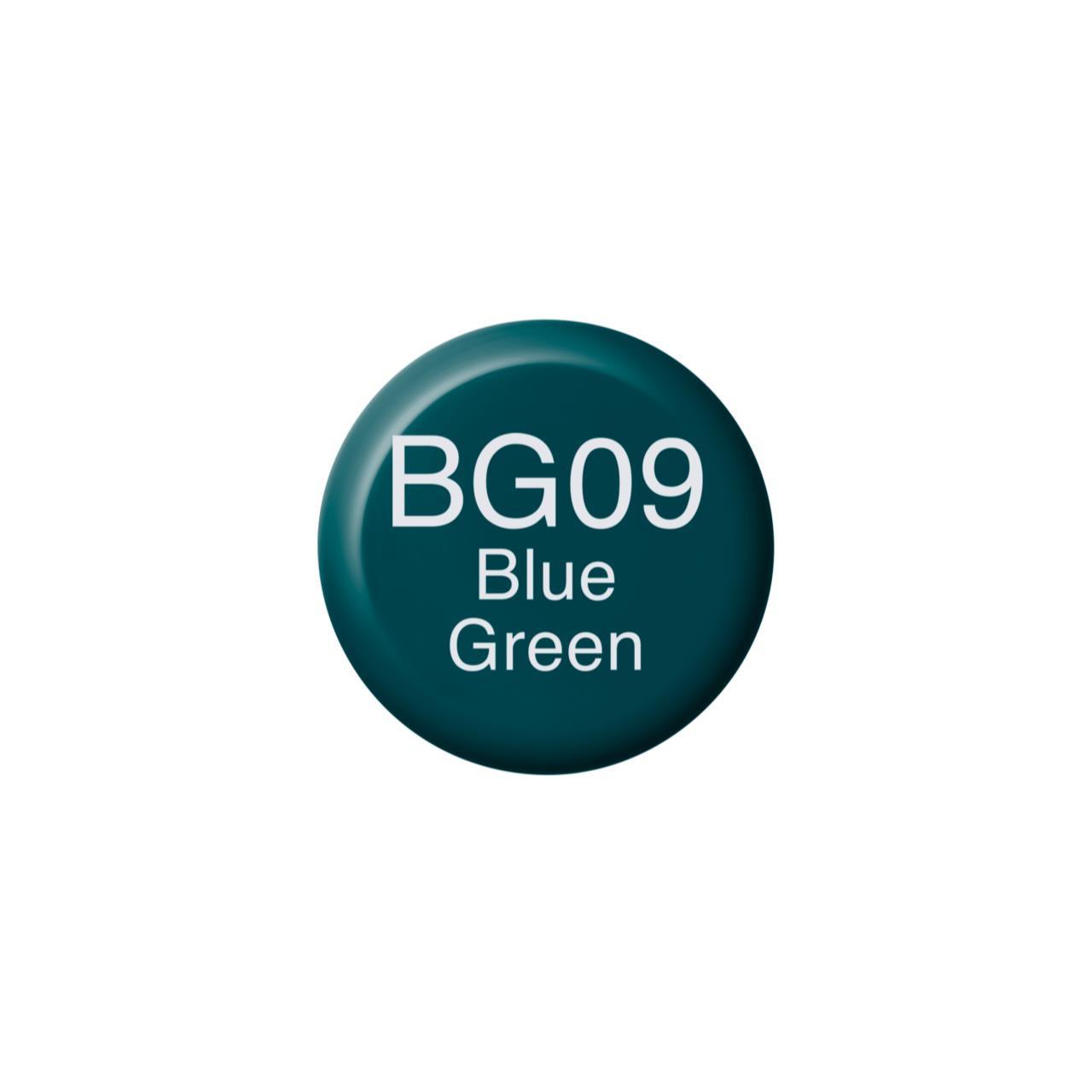 BG09 Blue Green, Copic Ink - 4511338056219
