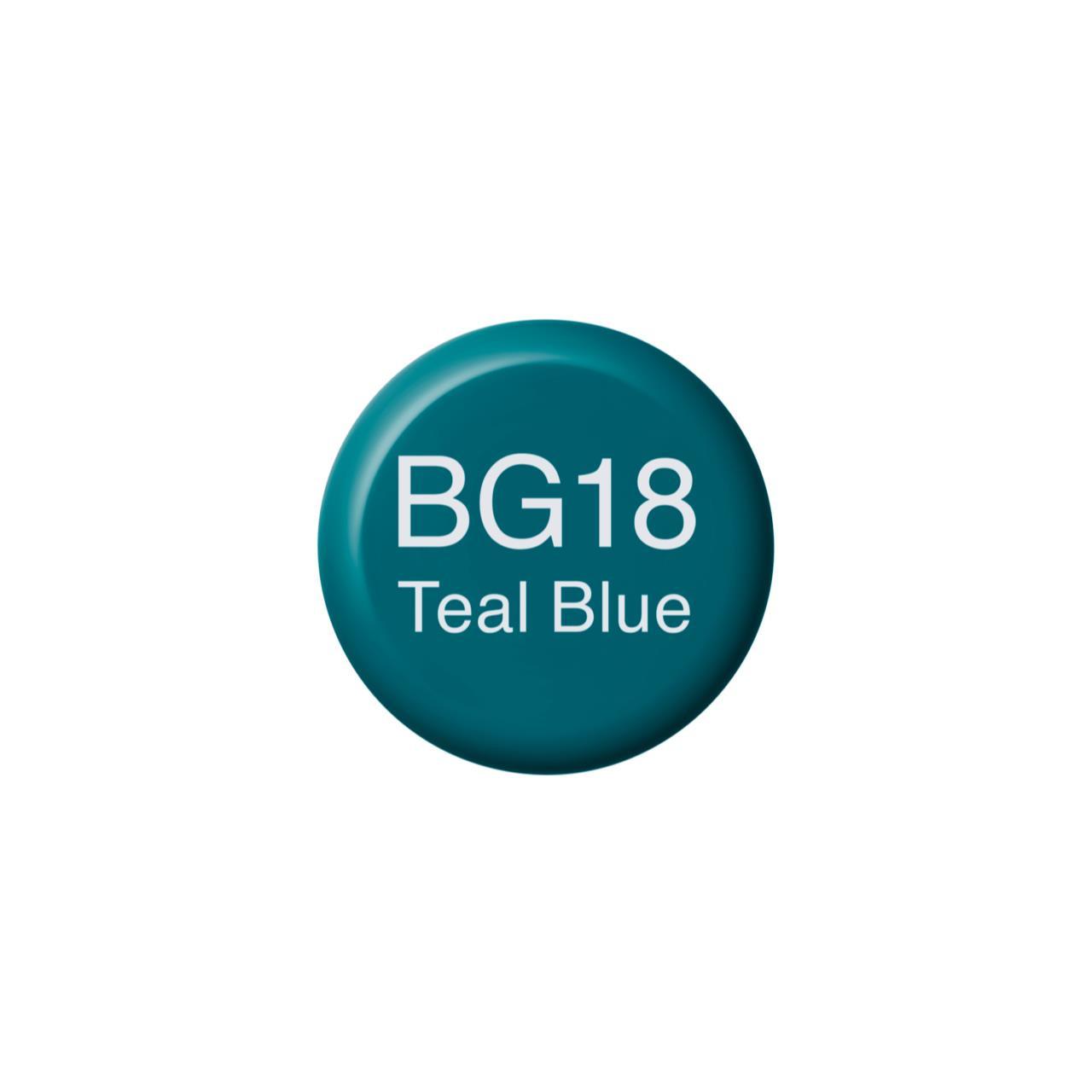 BG18 Teal Blue, Copic Ink - 4511338056264