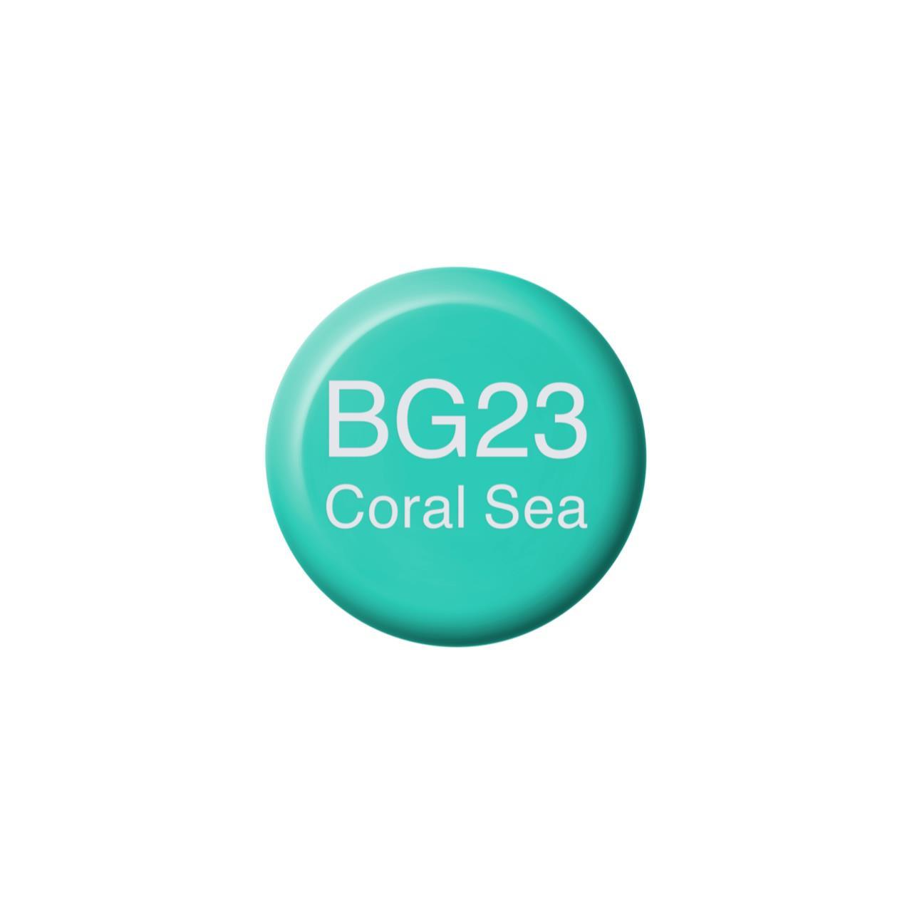 BG23 Coral Sea, Copic Ink - 4511338056271