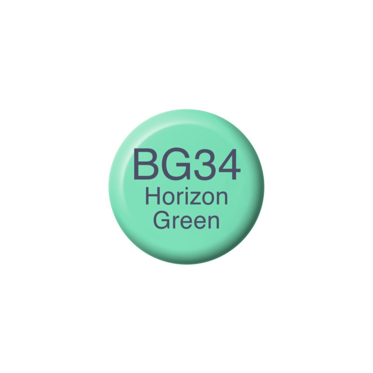 BG34 Horizon Green, Copic Ink - 4511338056295