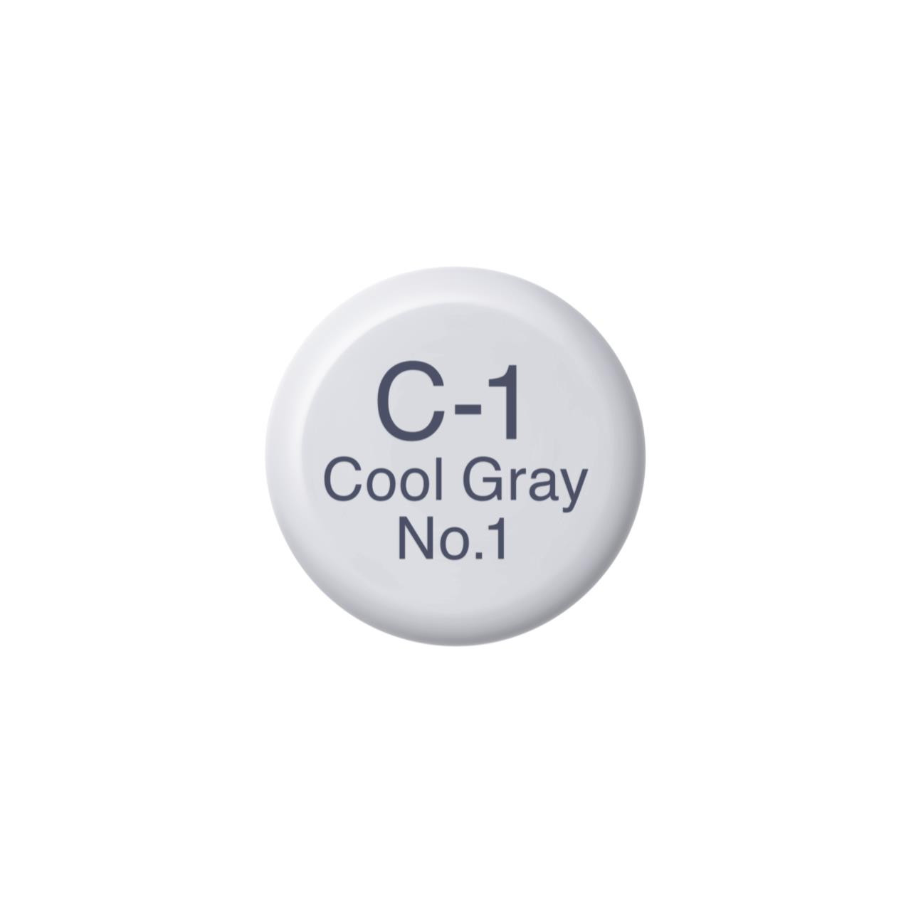 C1 Cool Gray 1, Copic Ink - 4511338055335