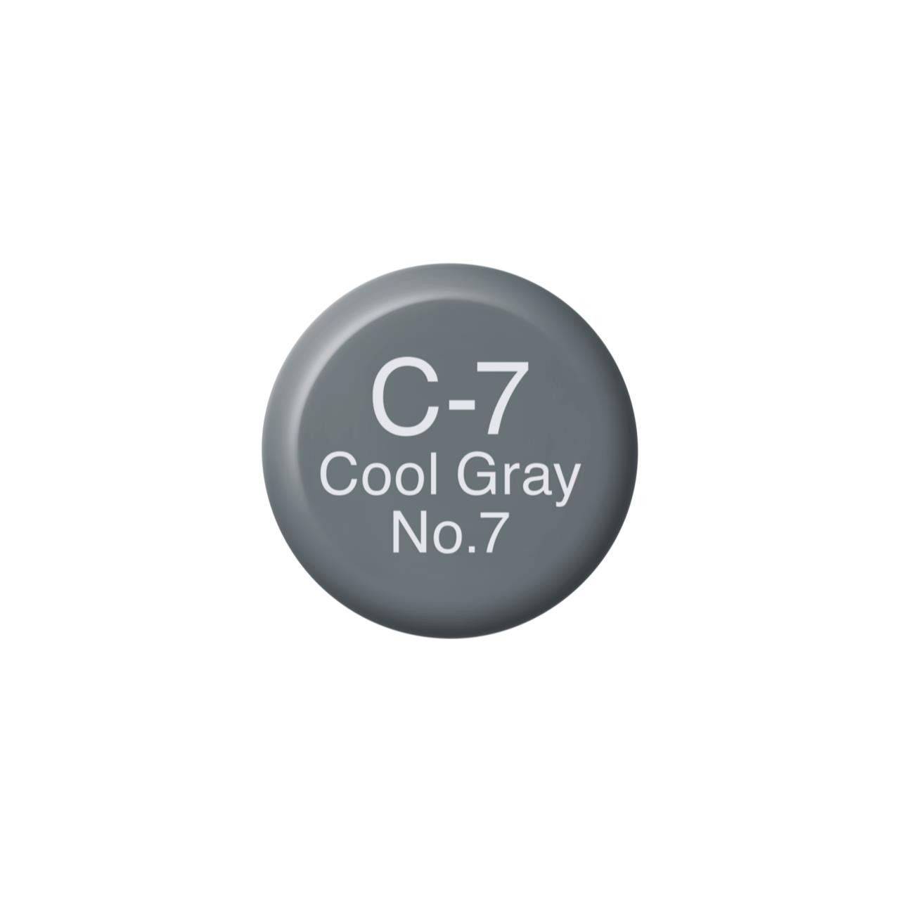 C7 Cool Gray 7, Copic Ink - 4511338055397
